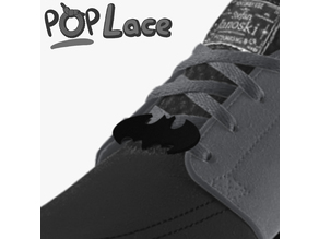 BATMAN LOGO - ACCESSORY FOR SHOE LACE - POPLACE