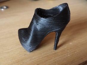 High Heel Tronchetto shoe