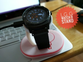 LG G Watch R Stand