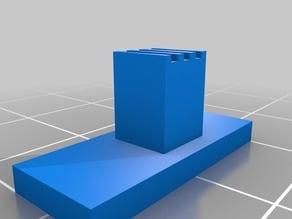 Slider for micro slide switch