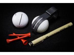 Golf Ball Belt Clip Remix