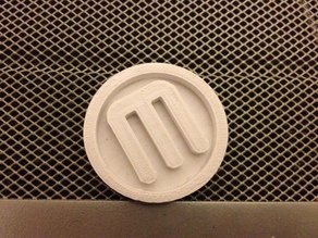 MakerBot Coin - OpenSCAD DXF Extrusion