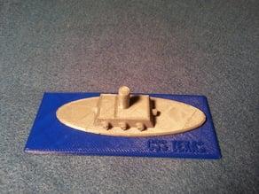 Civil War Ironclad Construction Kit