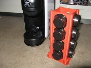 """Lavazza """"A modo mio"""" coffee capsule holder"""