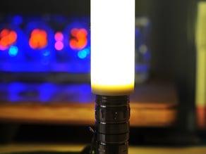 Flashlight diffuser