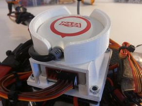 DJI Naza Mount - completely modular (Use 1 Naza for multiple copters)