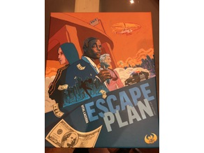 Escape Plan boardgame insert