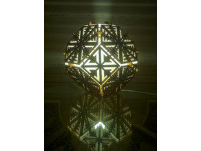 Truncated Octahedron Lamp