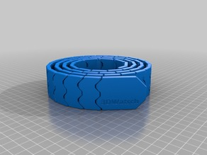 My Customized Belt (single print, MMU design)