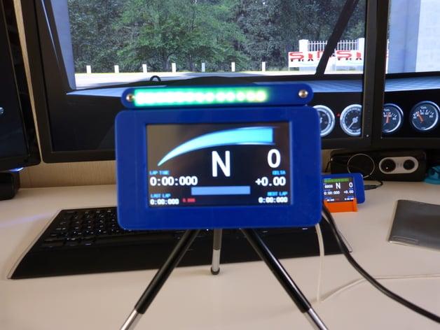 Nextion Ws2812b Led Bar Arduino Nano Enclosure By