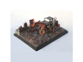1/35 Scale Ruined Brick Wall Pieces