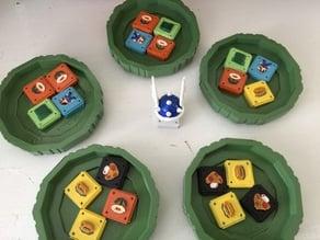 Mario Azul Board Game Tray