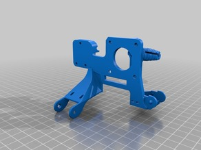 Extruder Base With Cable chain for X and Extruder,Filament runout sensor, Ender 3