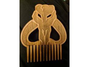 Mandalorian Beard Comb
