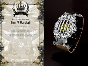 [ HANNIBAL ] steampunk watch series - 0