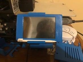 Raspberry Pi Octoprint TouchUI Ender 3 rail mount