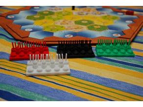 Spielfiguren für Die Siedler von Catan