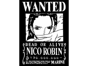 Wanted poster Nico Robin