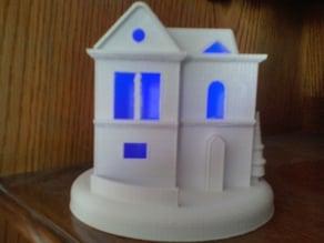 maison decoration noel