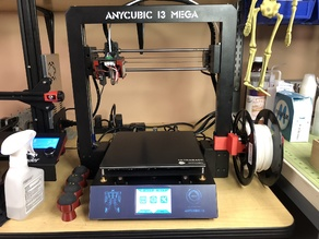 "Anycubic I3 Mega ""Filler"" Spool Holder adapter"