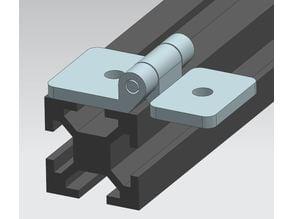 20x20 extrusion hinge