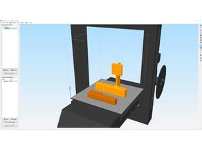 Drucker Model -  JGAurora A5 für Simplify 3D