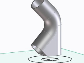 90° Ø22mm elbow for ABS to PVC Pipe Weld (World First)