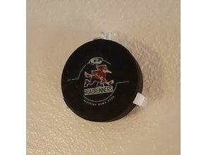 Hockey Puck Wall Mount