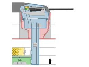 Battleship turret