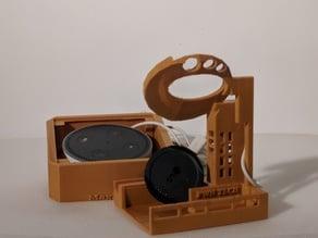 Magic Box A - Echo Dot Amplifier/ Smart Watch Holder/ Phone Stand PART A