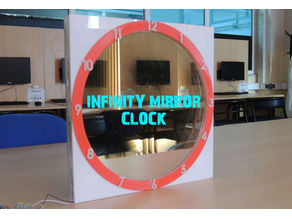 INFINITY MIRROR CLOCK UPDATED VERSION