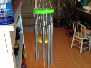 Wind Chime Top Plate and Ringer Plate