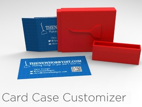 Card Case Customizer