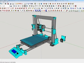 Amadon's Prusa i3 - Wilson hybrid complete printer