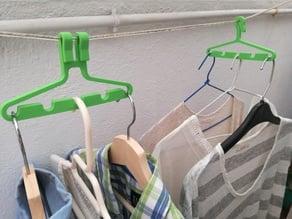 Multi clothes hanger