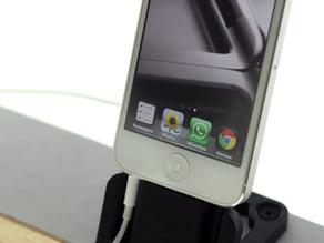 iphone5 Dock, screw down & headphone compatible