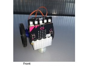 Micro:bit robot chassi
