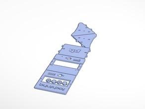 STL Printable Printbot LCD Control Box