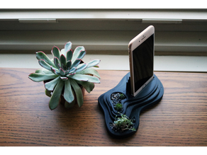 Layered Landscape Phone Stand