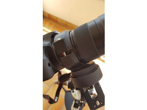 Mount for Samyang 135mm and Star Adventurer or any tripod.