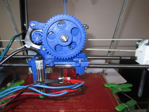 Carriage, fan mount & Extruder for e3d lite6 hotend on Prusa mendel i2