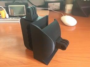 Portable GoPro Grip with Teradek Holder