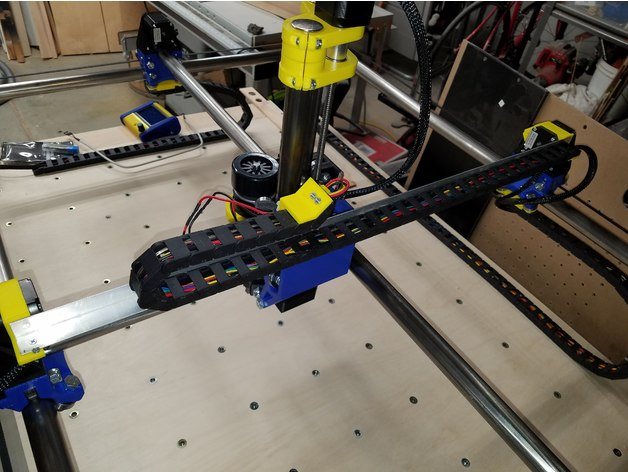 MPCNC Drag Chain System by randysteck - Thingiverse