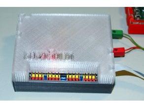 fischertechnik I2C servo shield case