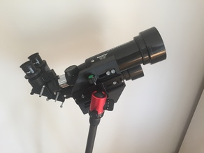 Build  Astronomy Binoculars using two 70mm Travel Scopes