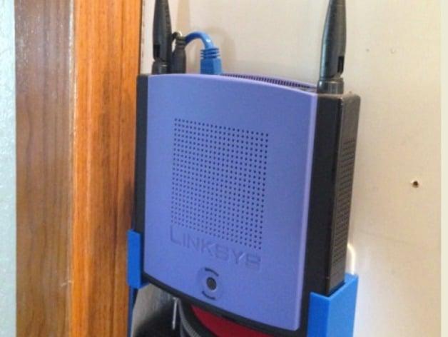 Linksys Wrt150n Wifi Router Drop In Wall Mount By Finch