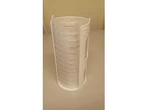Petri dish holder / rack for 90mm petri dishes