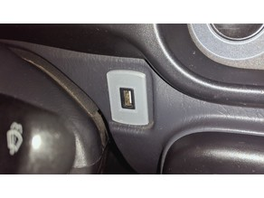 Daihatsu Cuore / Mira Switch blank plate (l7)