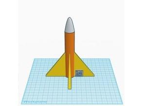 Tinkercad Rocket