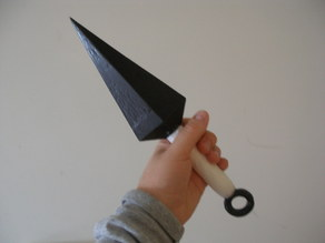 Kunai - Full sized, anime style
